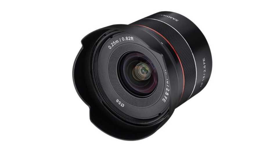 Анонсирован Samyang AF 18mm f/2.8 FE для Sony