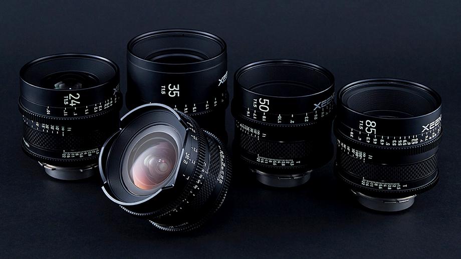 Два объектива для видео Samyang – Xeen CF 35mm T1.5 и Xeen CF 16mm T2.6