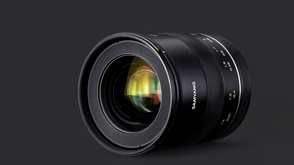 Samyang представил объектив 35/1,2 для Canon EF