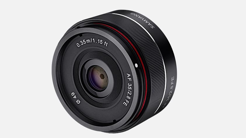 Анонсирован Samyang AF 35mm F2.8 FE под  Sony