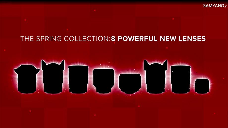 Samyang готовится представить 8 новых объективов