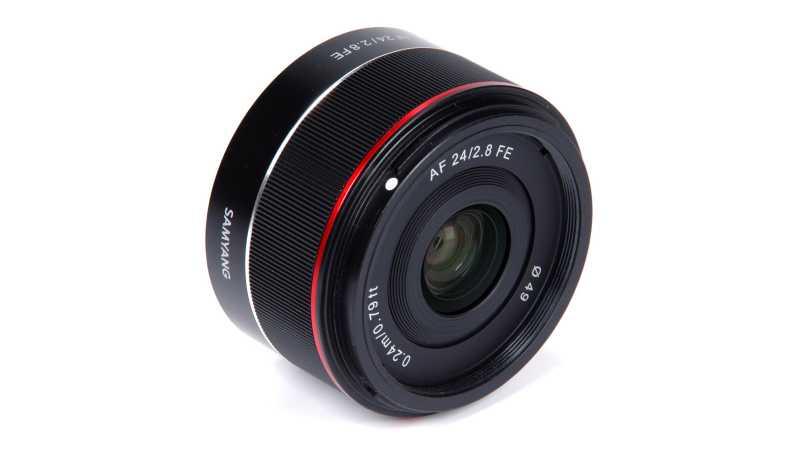 Samyang AF 24mm F2.8 FE официально представлен