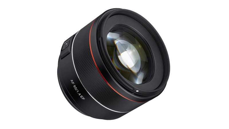 Готовится к выпуску Samyang AF 85mm f/1.4?