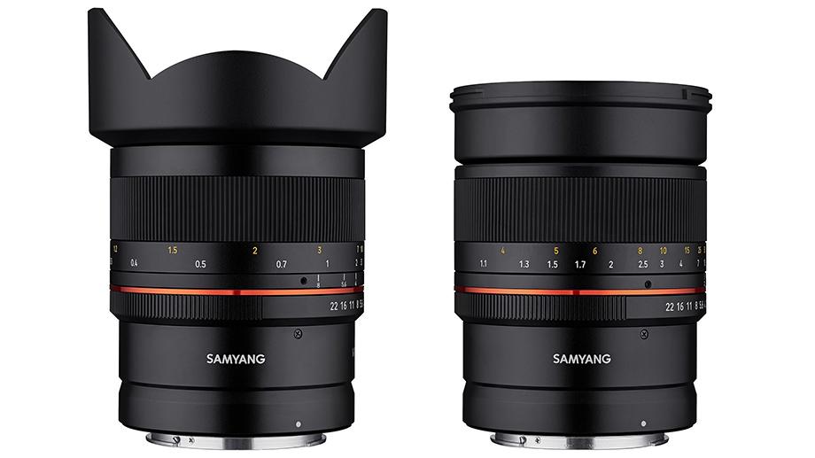 Samyang представил недорогие объективы 2.8/14 и 1.4/85 под Canon RF