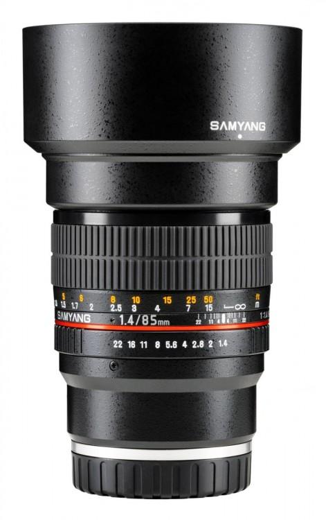 Samyang выпускает пять полнокадровых объективов под байонет Sony E