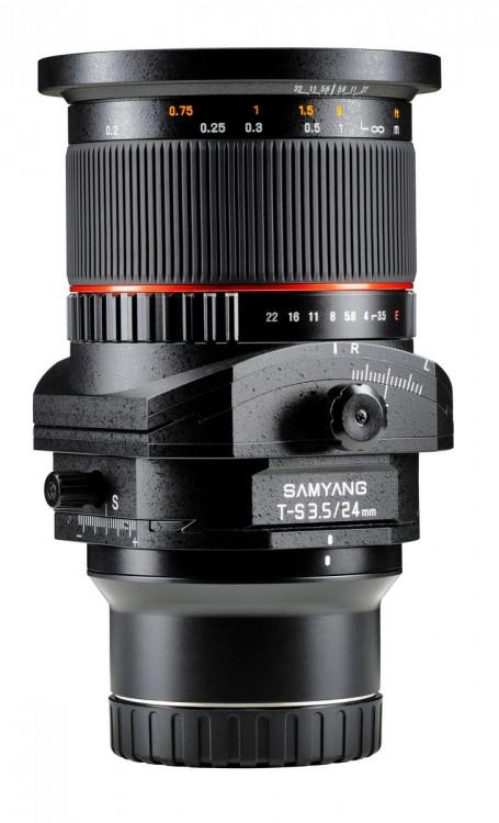 Samyang T-S 24/3.5mm ED AS UMC. Тест