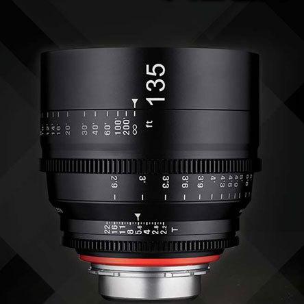 Samyang анонсировал кинообъектив XEEN 135 mm T2.2