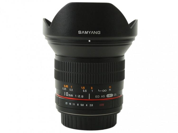 Samyang 10/2.8 появится через месяц