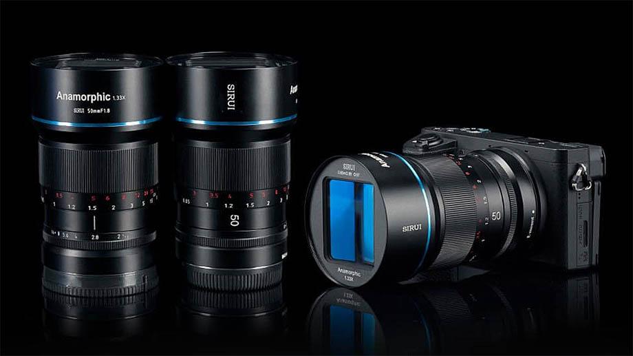 Анаморфотный объектив Sirui 50mm f1.8 доступен для заказа