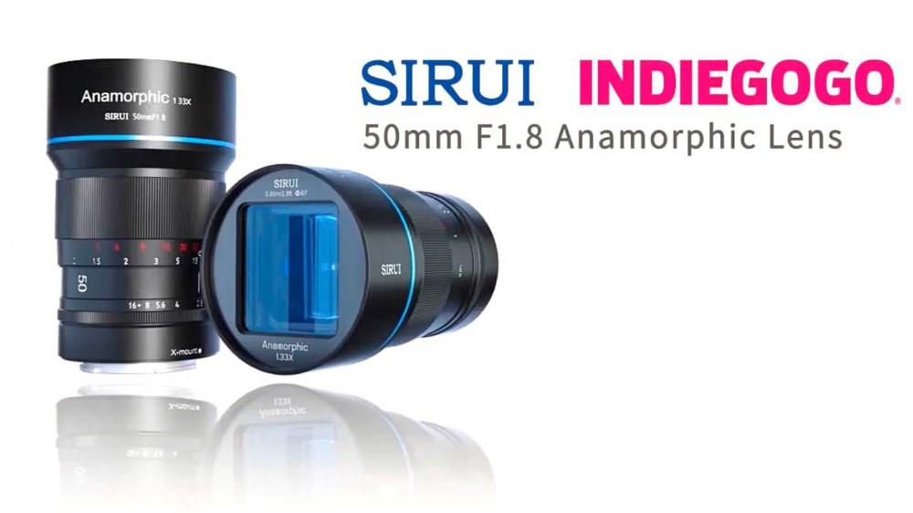 Sirui анонсировала анаморфотный объектив 50mm f/1.8 1.33x для кроп-камер