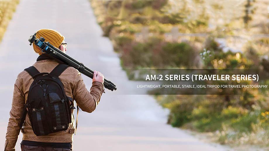 Sirui представила новую серию тревел-штативов AM-2