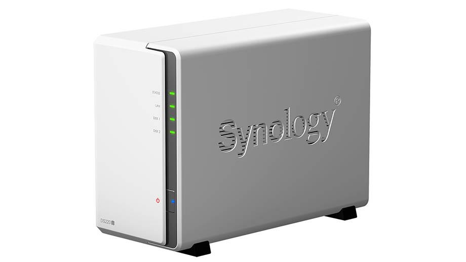 Сетевое хранилище DiskStation DS220j от Synology