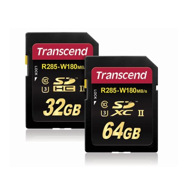 Transcend анонсировал новые UHS-II SD-карты 3-го класса