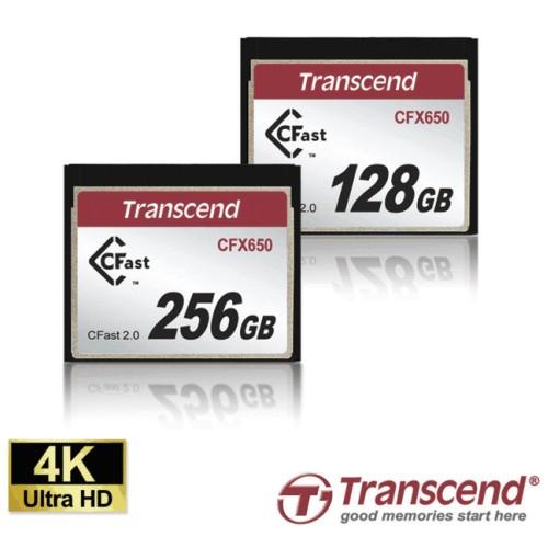 Карты памяти Transcend CFast 2.0 CFX650 для 4K-видеозаписи