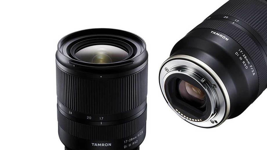 Стоимость Tamron 17-28mm f/2.8 Di III RXD для Sony E – $900