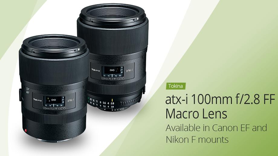 Анонсирован Tokina atx-i 100mm f/2.8 FF Macro для зеркальных Canon и Nikon
