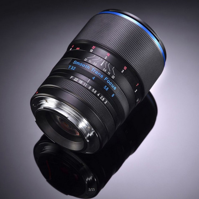 Анонсирован объектив Venus Optics Laowa STF 105mm f/2 для любителей красивого боке