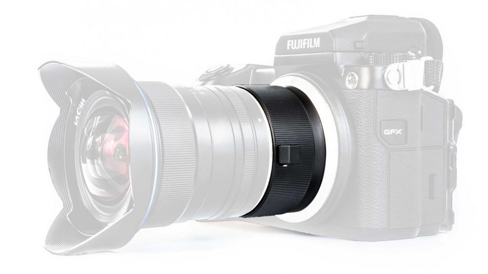 Laowa предложила адаптер Magic Format Converter для Fujifilm GFX50S
