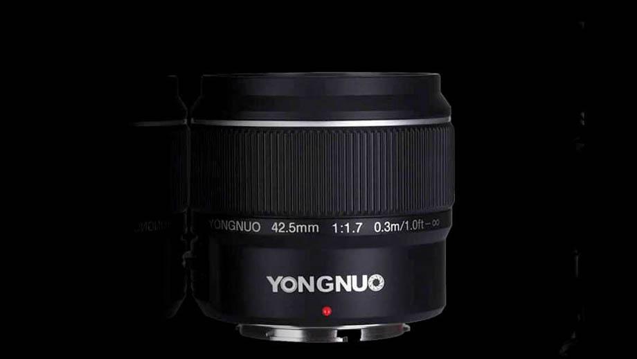 Анонсирован Yongnuo 42.5mm f/1.7 MFT за $73