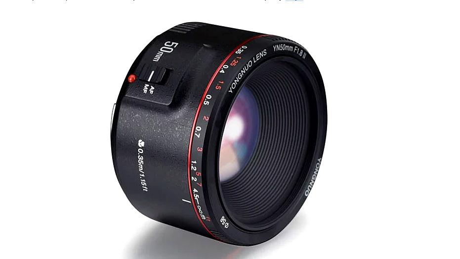 Yongnuo 50mm f/1.8 II для супер-боке