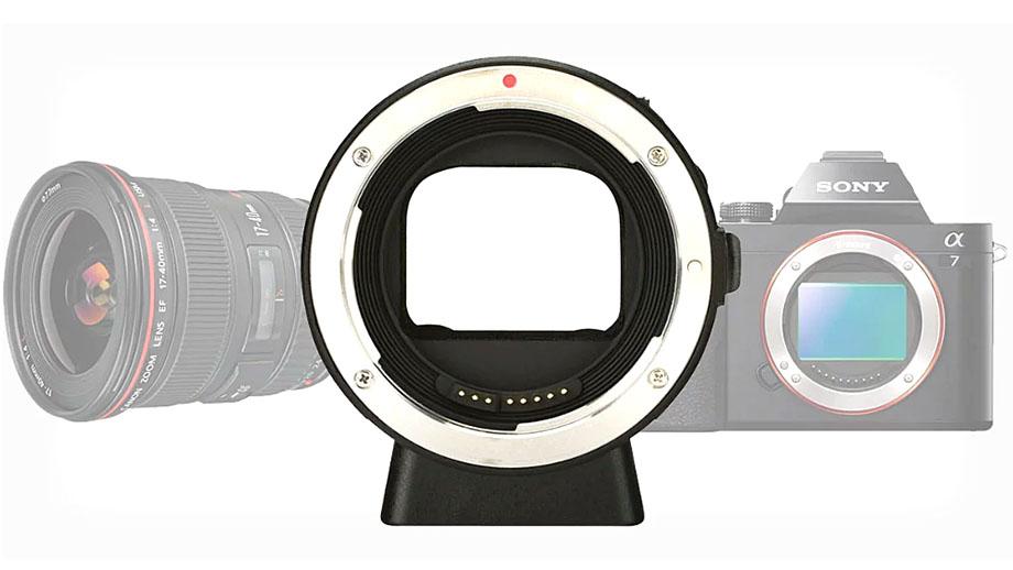 Автофокусный адаптер Canon EF для Sony E от Yongnuo
