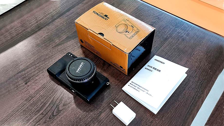 """Yongnuo YN450 4G с сенсором Micro 4/3"""" байонетом Canon EF  уже продается"""