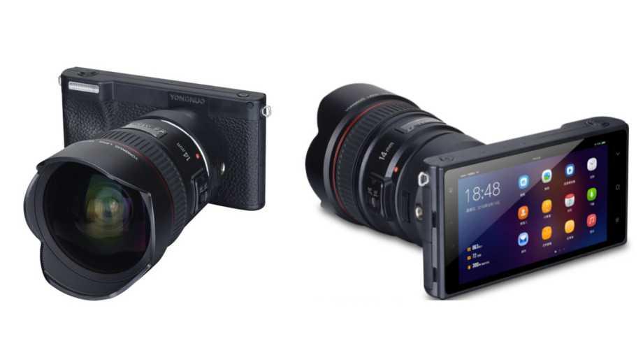 Появились спецификации беззеркальной Android 4G камеры Yongnuo YN450