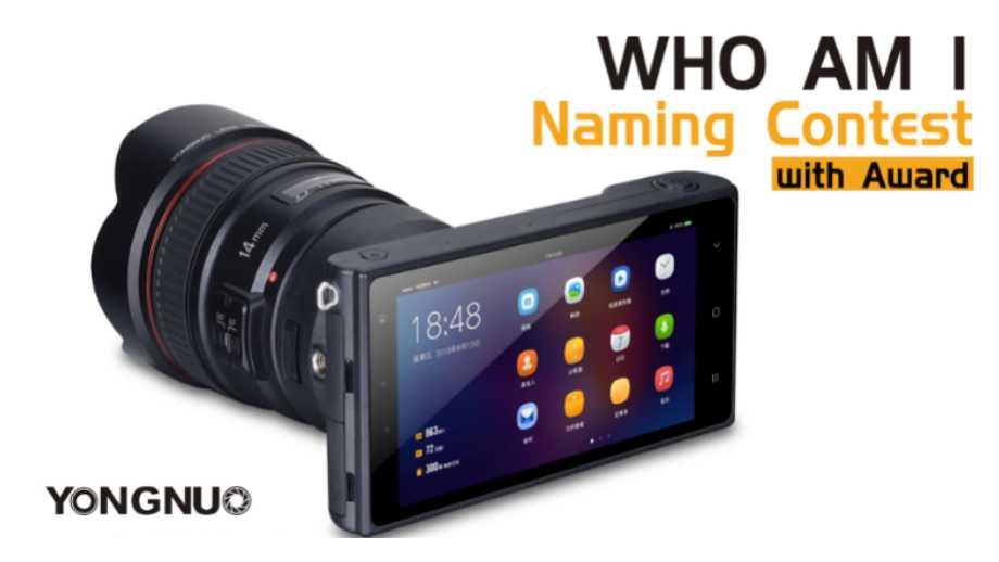 Yongnuo YN450 – новый  смартфон со сменными объективами?
