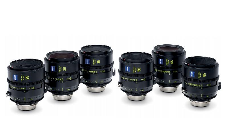 Zeiss захватывает рынок кинопроизводства 13-ю объективами