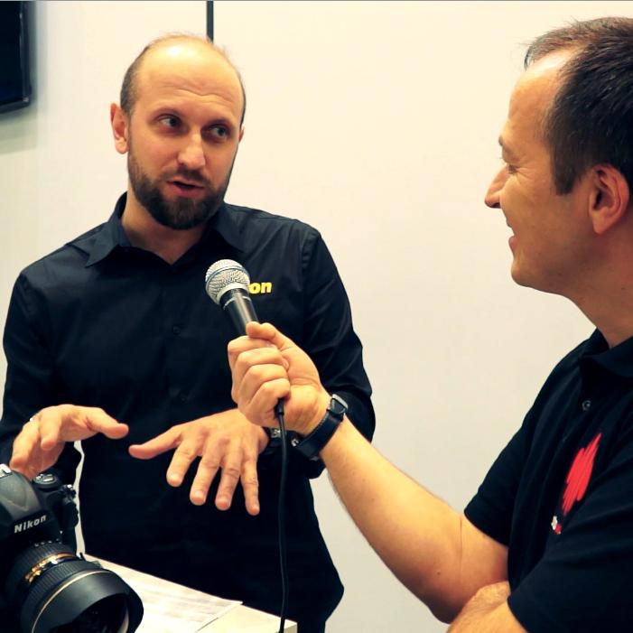 Фотофорум-2016. Интервью с представителем компании Nikon