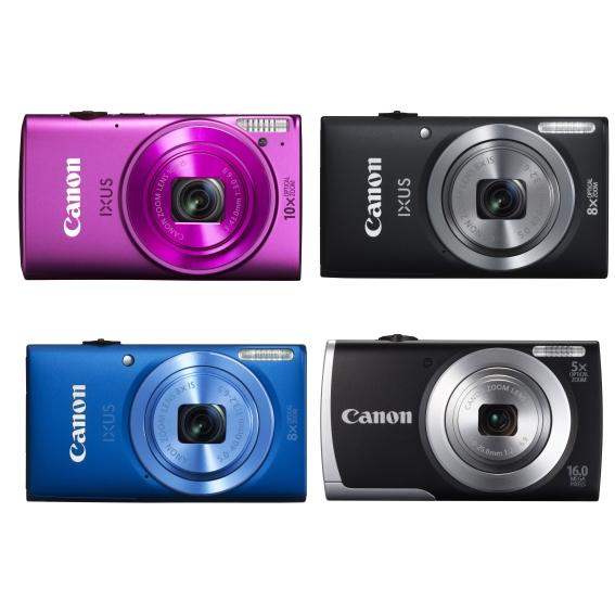 Canon пополнил линейки IXUS и PowerShot