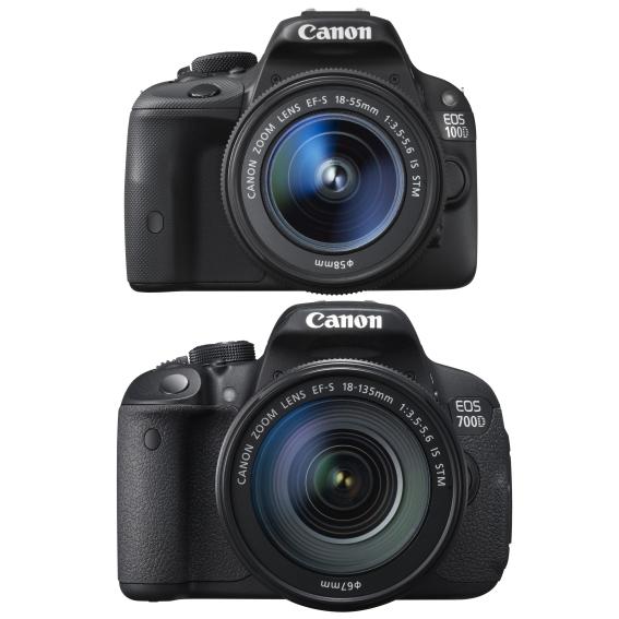 Canon представил EOS 700D и 100D и новый бюджетный зум-объектив