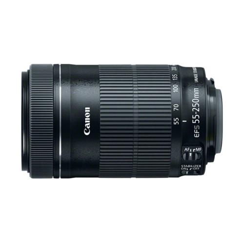 Canon анонсировал объектив EF-S 55-250mm f/4-5.6 IS STM для зеркальных камер