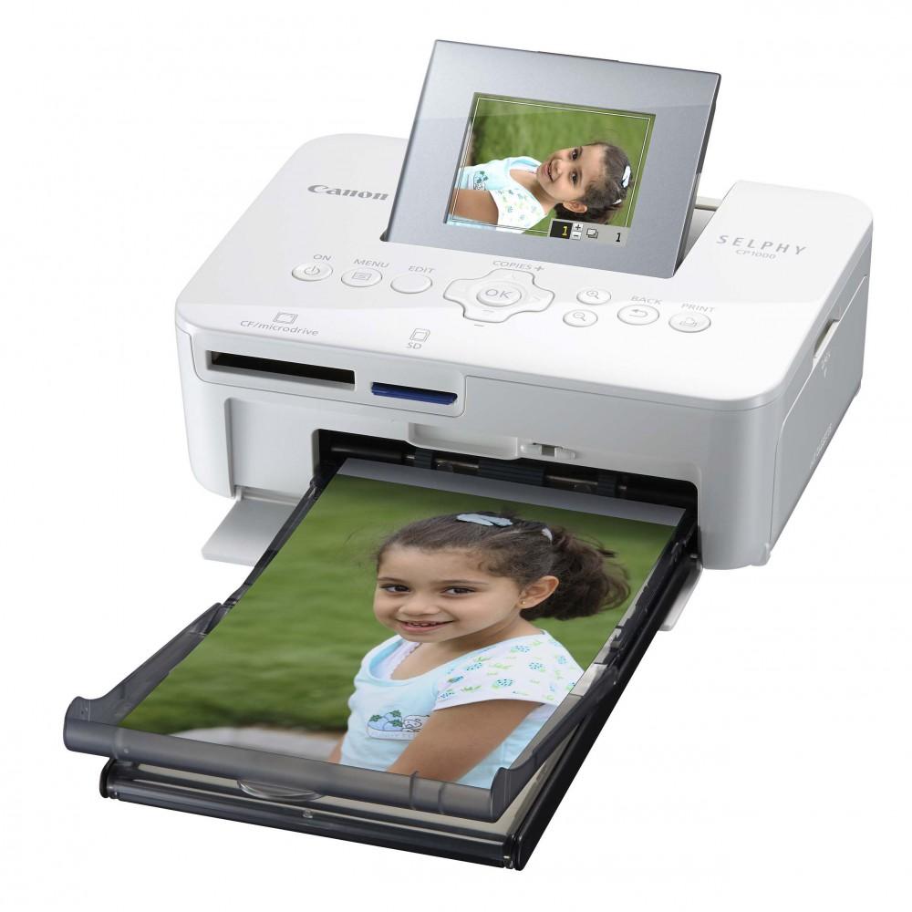 Canon представил новый компактный принтер Selphy CP1000