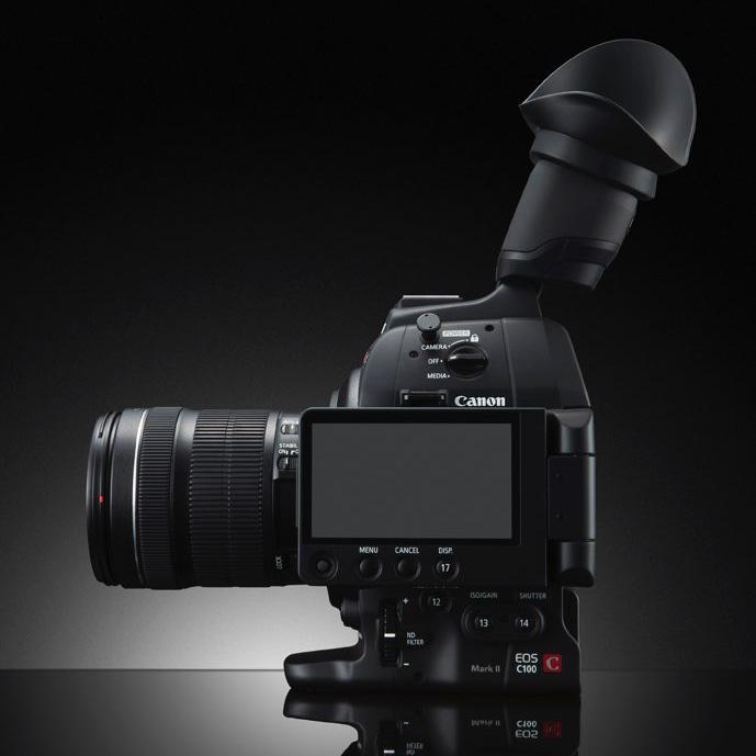 Canon представил обновление в линейке Cinema -  EOS C100 MarkII