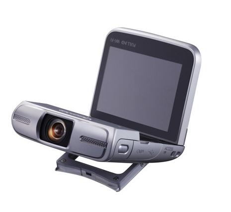 Компания Canon анонсировала выпуск новой камеры необычного дизайна - LEGRIA mini