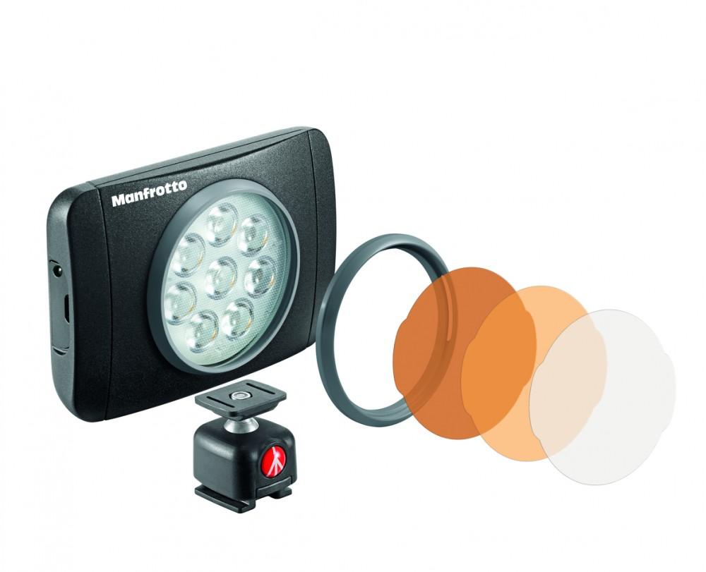Manfrotto выпустила LED-светильники новой серии Lumie