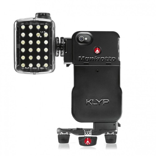 MKPLKLYP0. KLYP iPhone™ 4/4S Case with ML240 MINI LED light  and POCKET tripod