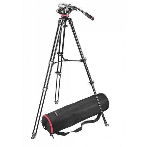 Комплект для видеосъемки Manfrotto KIT VIDEO TELESCOPIC TWIN LEG MVK502AM
