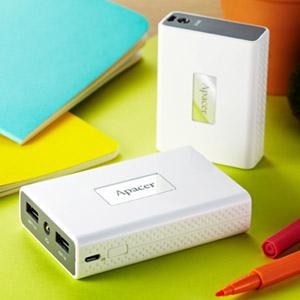 Apacer представляет мобильные аккумуляторы Power Bank B110 и B120