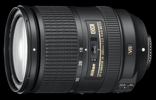 Nikon выпустил AF-S DX Nikkor 18-300/3,5-5,6G ED VR