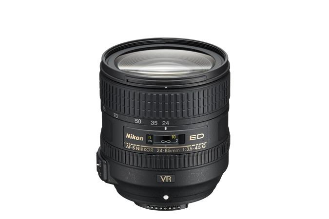 Nikon выпустил объектив AF-S Nikkor 24-85/3,5-4,5G ED VR