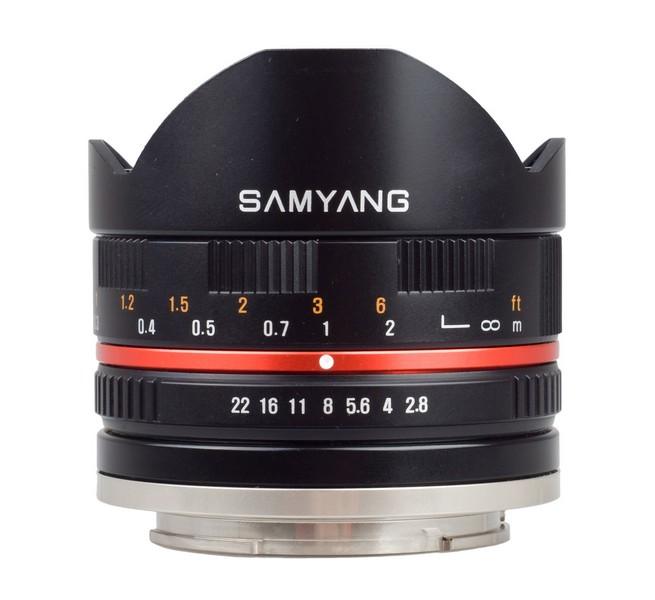 Samyang 8/2.8 для Samsung NX и Sony NEX