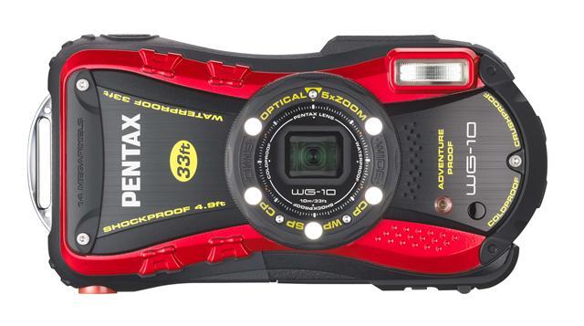 Pentax Ricoh анонсирует выпуск недорогой водонепроницаемой камеры Pentax WG-10