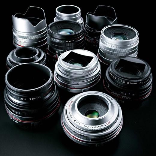Компания Ricoh представила обновленную серию легендарных объективов HD PENTAX-DA Limited