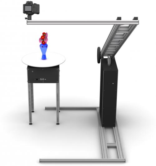 3D-MAKER. Оборудование для трехмерной предметной фотосъемки