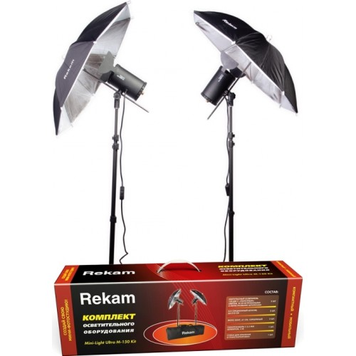 Комплект Rekam Mini-Light Ultra M-150 (120 Дж) Kit