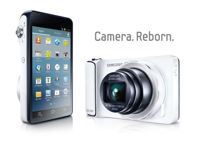 Samsung Electronics  представил на российском рынке фотокамеру Samsung GALAXY Camera