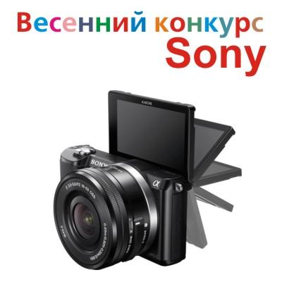 Мартовский фотоконкурс Sony – Весна