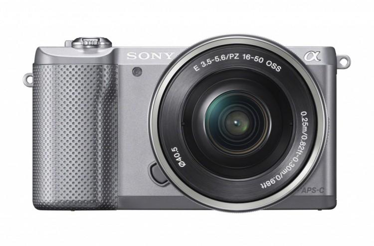 Sony представила суперлегкую беззеркалку α5000
